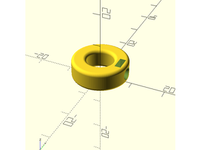 Customizable Set Screw Ring