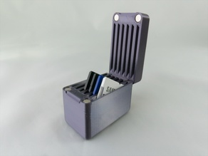 Magnetic SD Card Case Vert