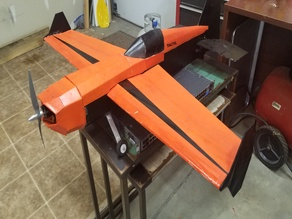 FT Edge 540 Wing Tip Vertical Stabiizers and Tail Drag