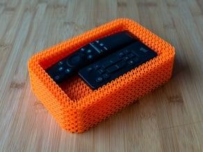 Gyroid TV remote box