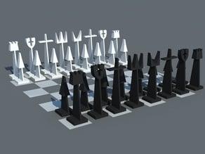 Austin Enterprises Style Chess Set