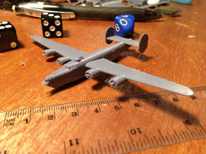 B-24 Liberator for microarmor
