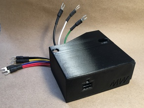 Mean Well RT series PSU cover