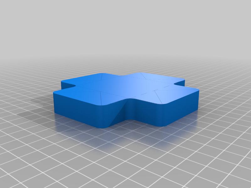 Holographic Cross Box
