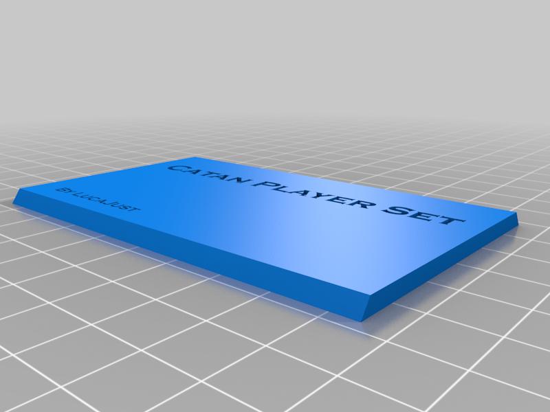 Box for Catan Player set