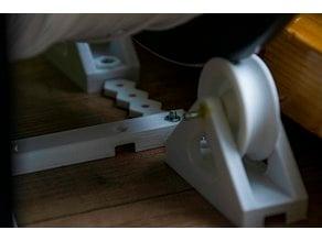 Filament spool holder (Fully printable)