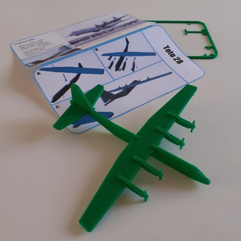 FAMOUS PLANES - C130 Hercules kit card