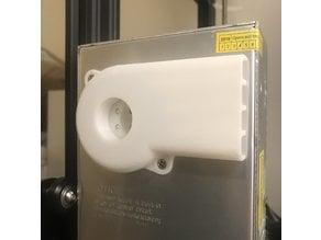 Power Supply (PSU) fan silencer (Ender 3)