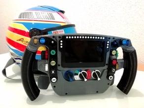 F1 Mclaren MP4-30 2015 Steering Wheel.