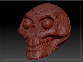 Leather Skull