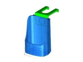 Equate 34oz or Target 32oz Hand Sanitizer holder for Haworth Compose Cubicles