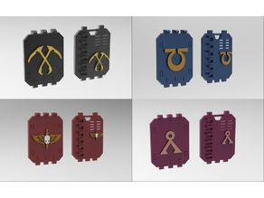 Personalized doors for space troops transport