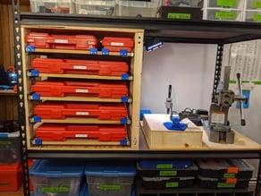 Gauge Pin/Tool Case Drawer Unit Parts