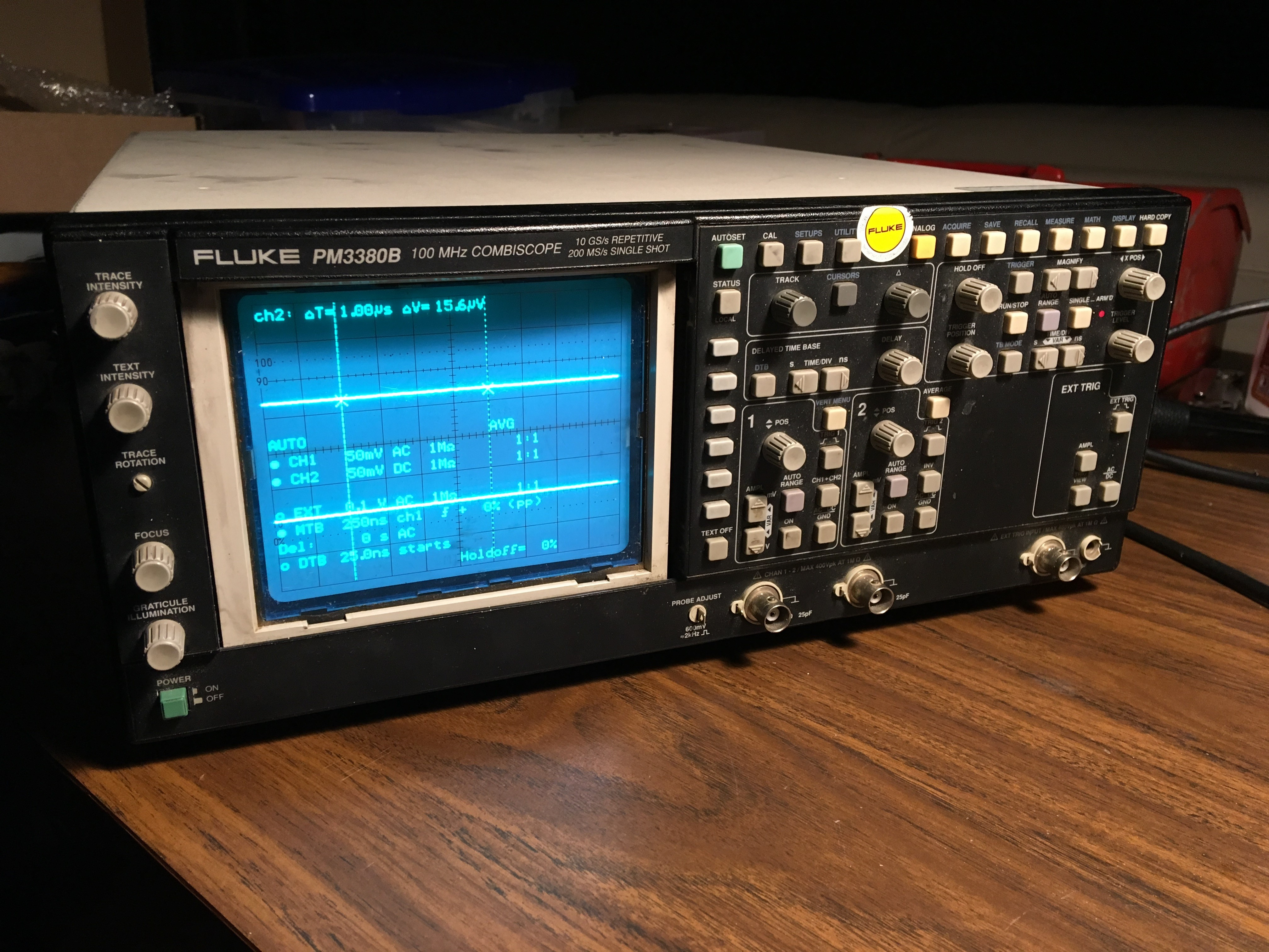 Screen Bezel for Fluke PM33xx CombiScope Oscilloscope by