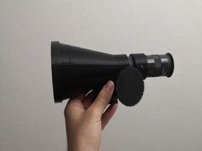 "75mm Refractor Telescope linear focuser 1.25"""