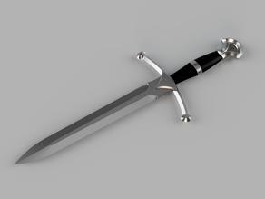 Gondorian dagger (custom design)