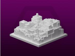 GreebleCity Cyberpunk: The Heaps
