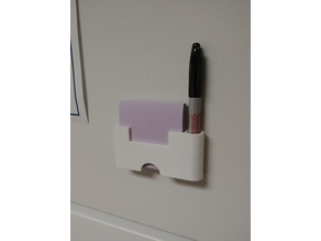 Fridge Post-it/Marker Holder