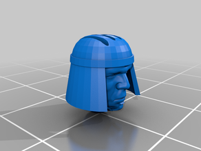 Macabre Janus helmet