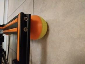 Tennis ball vibration damper feet