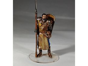 1-54 - Human Paladin Warscythe / Shield