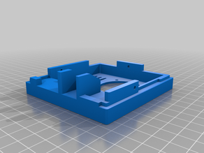 Raspberry Pi Case Extended - Wall Or Monitor Mounted With HDMI Option