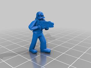 Hosytian Guardsman, Plasma Gunner