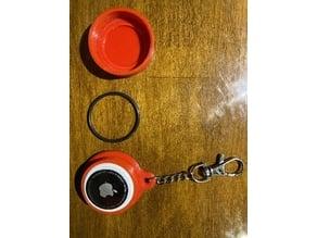 Apple Airtag waterproof keychain case