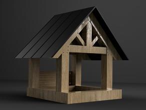 Cabin Style Bird House