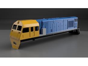 Tasrail MKA Class Locomotive