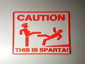 This is Sparta! Sign