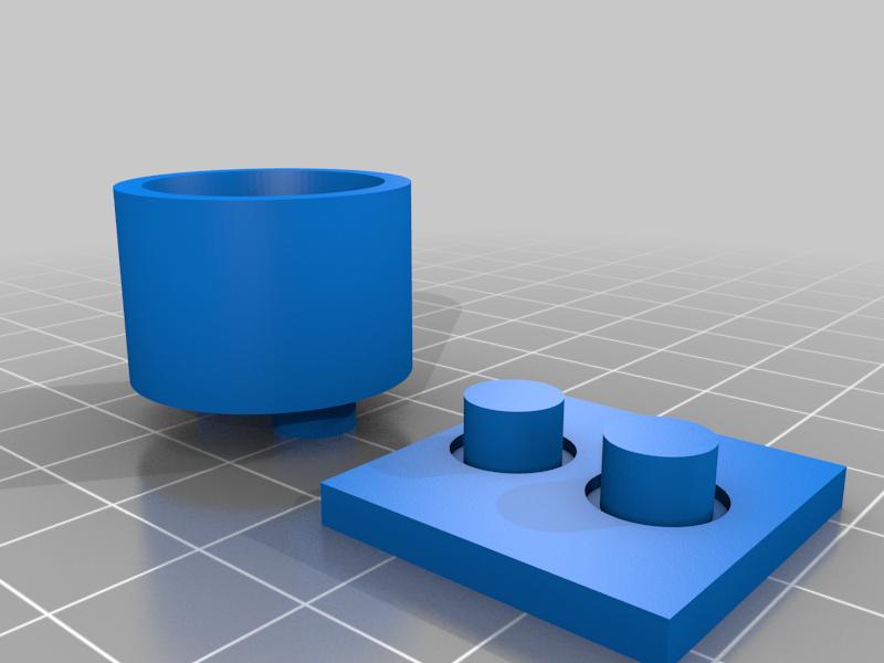 3D printer spring mount