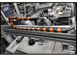 Cable chain (and addons) for auluminium 4040 profiles, CNC routers/engravers