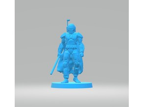 Mandalorian Character (Lightsaber)
