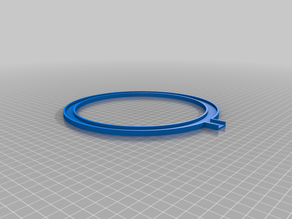 LED ring light and phone stand