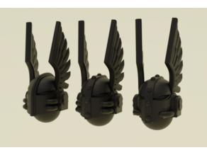Gloomy Angels Loyal Friends Helmets