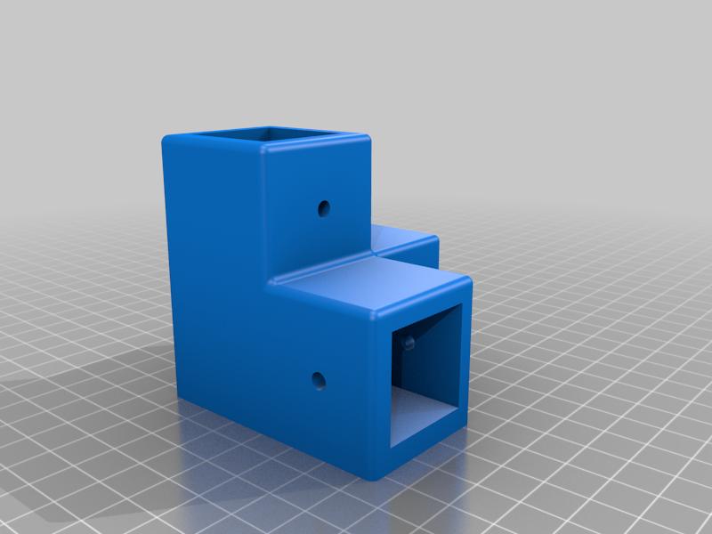 Core A8 Slim 25,5mm Bottom Corner With M10 Adjustable Feet