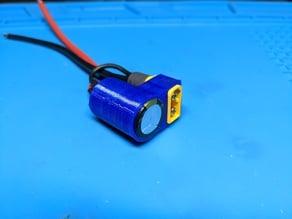 XT60 capacitor holder for Panasonic 1000uF 50V