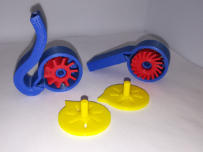 Whistles with a Turbine, STEM Play