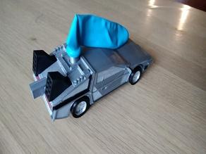 DeLorean, Timemachine, Back to the future, balloon power