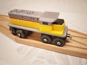 Toy Train Union Pacific BRIO / IKEA compatible