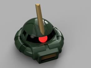 Zaku II Commander Helmet - Gundam