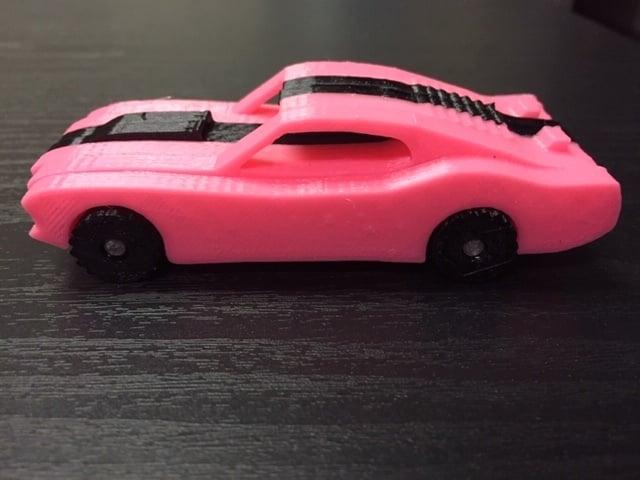 1969 Mustang for 3D printer