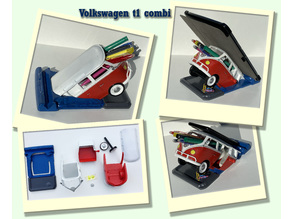 Volkswagen t1 Porte-Crayons / Office Organizer
