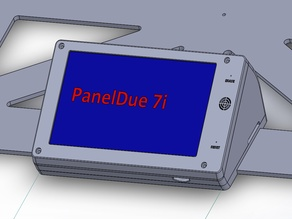 PanelDue 7i case for E3D ToolChanger