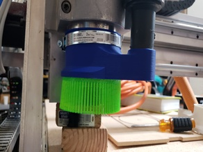Vacuum boot, 80mm spindle