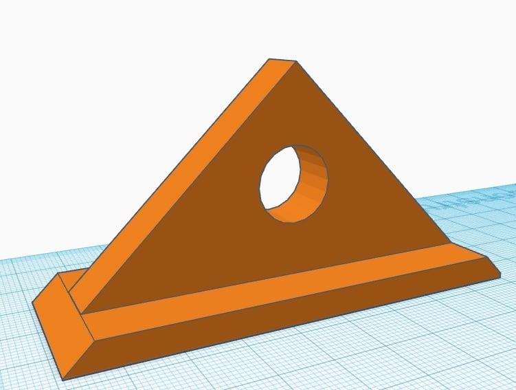 Equerre paramétrique d'atelier 45° / Parametric workshop square  (équerre)