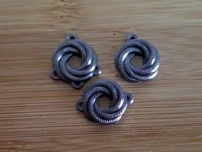 Knot Earring, Chandelier, & Link