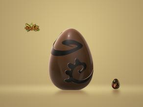 Oeuf Dofus Ébène / Egg Dofus Ebene