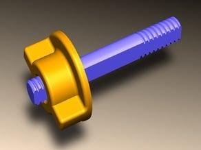 Зажим для катушки металлоискателя X-terra
